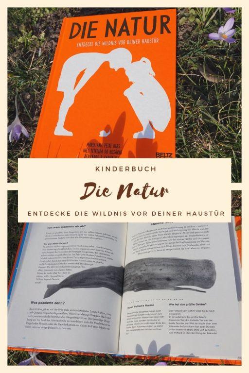 """Kinderbuch """"Die Natur"""" - Entdecke die Wildnis vor Deiner Haustür"""