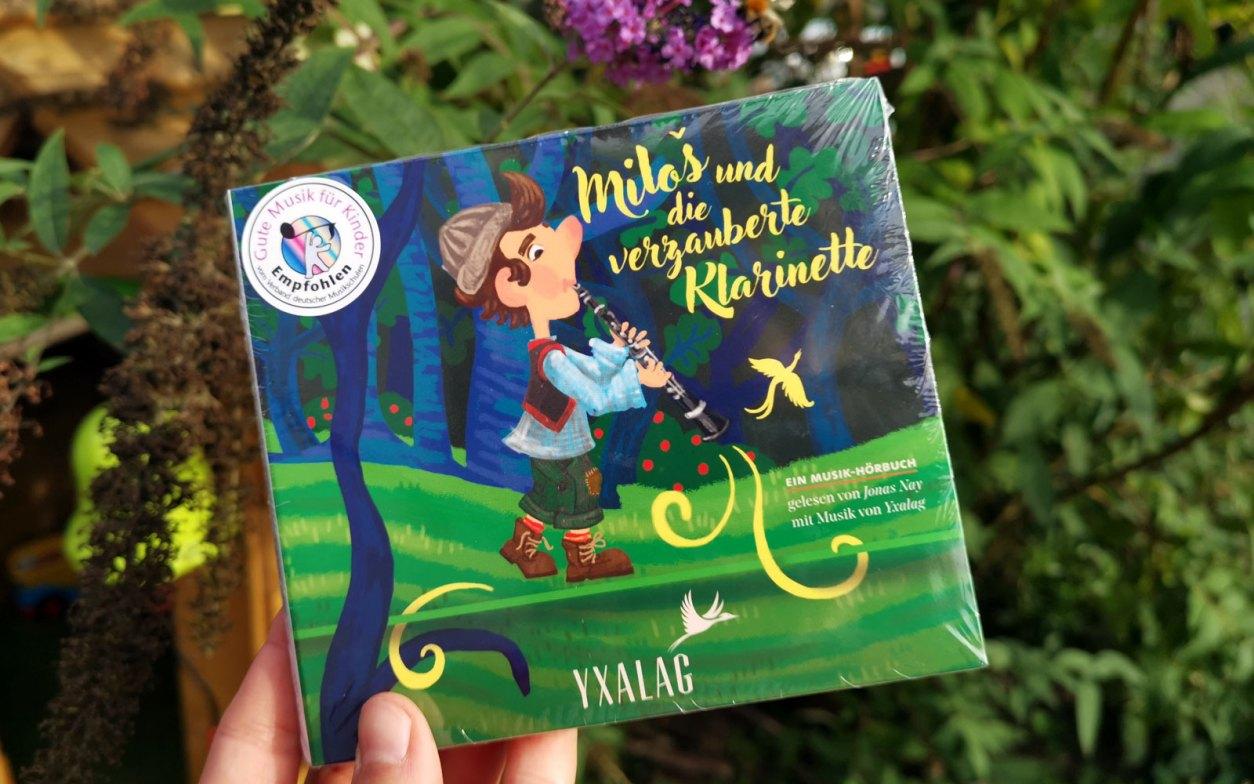 Hörbuch mit Musik: Cover Milos und die verzauberte Klarinette