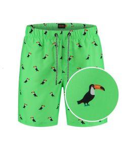 tucan new neon green Shiwi heren zwembroek
