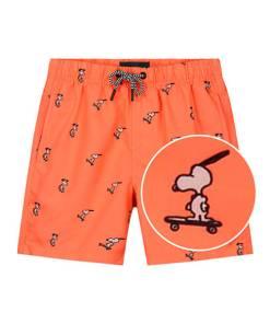 Happy skater Snoopy jongens zwembroek