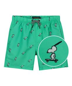 Shiwi Snoopy groene jongens zwembroek