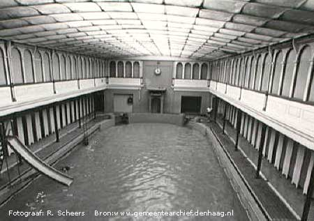 mauritskade 1933 Zwemvereniging Triton Den Haag