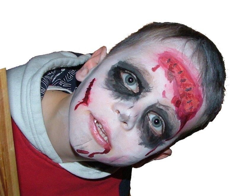 clown gesichter schminken vorlagen  fasching gesicht