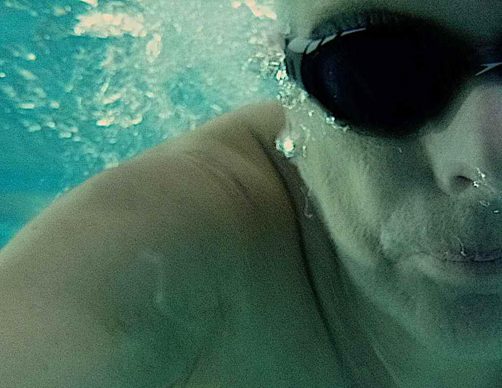 Auch unter Wasser in der Halle: Landkreisschwimmer