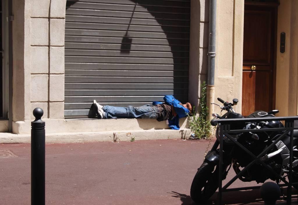 Straßen Schlafzimmer in Marseille