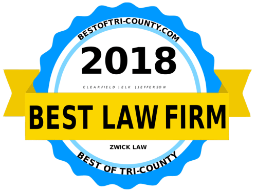 Zwick Law - Local & Aggressive Attorneys - DuBois & Brookville Attorneys