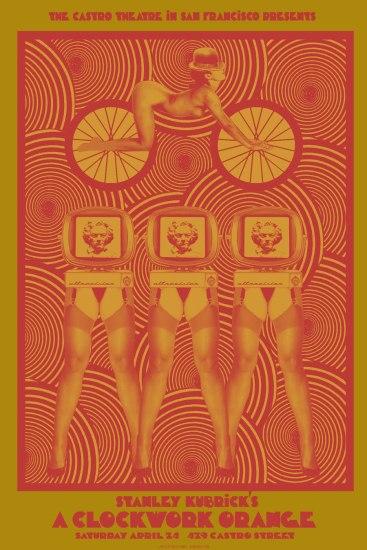Mechaniczna pomarańcza, reż. Stanley Kubrick