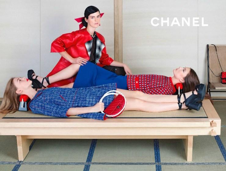 Chanel, trendy wiosna-lato 2013