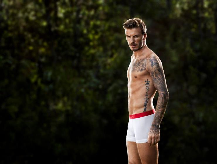 David Beckam w filmie Guy'a Ritchiego dla H&M
