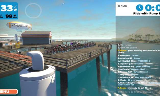 Joining a group ride or race in Zwift
