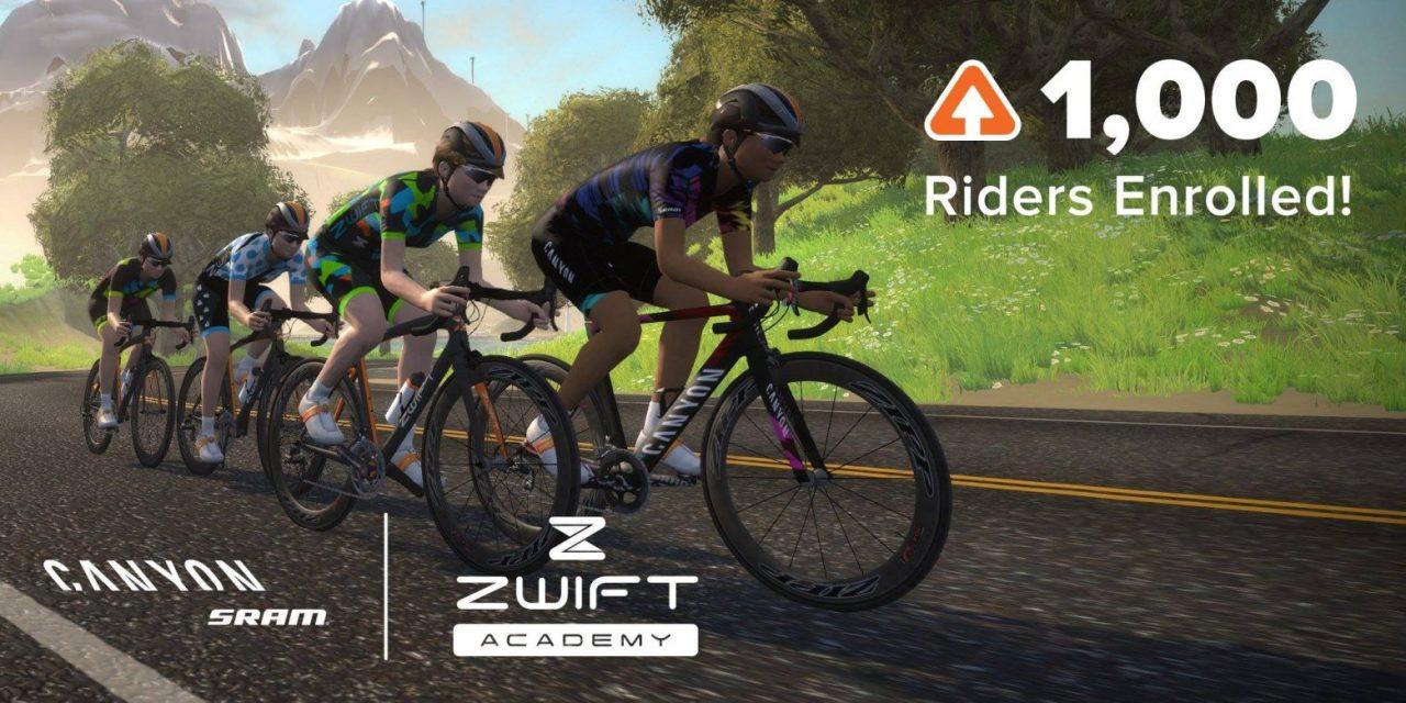 Three Zwift Academy finalists announced
