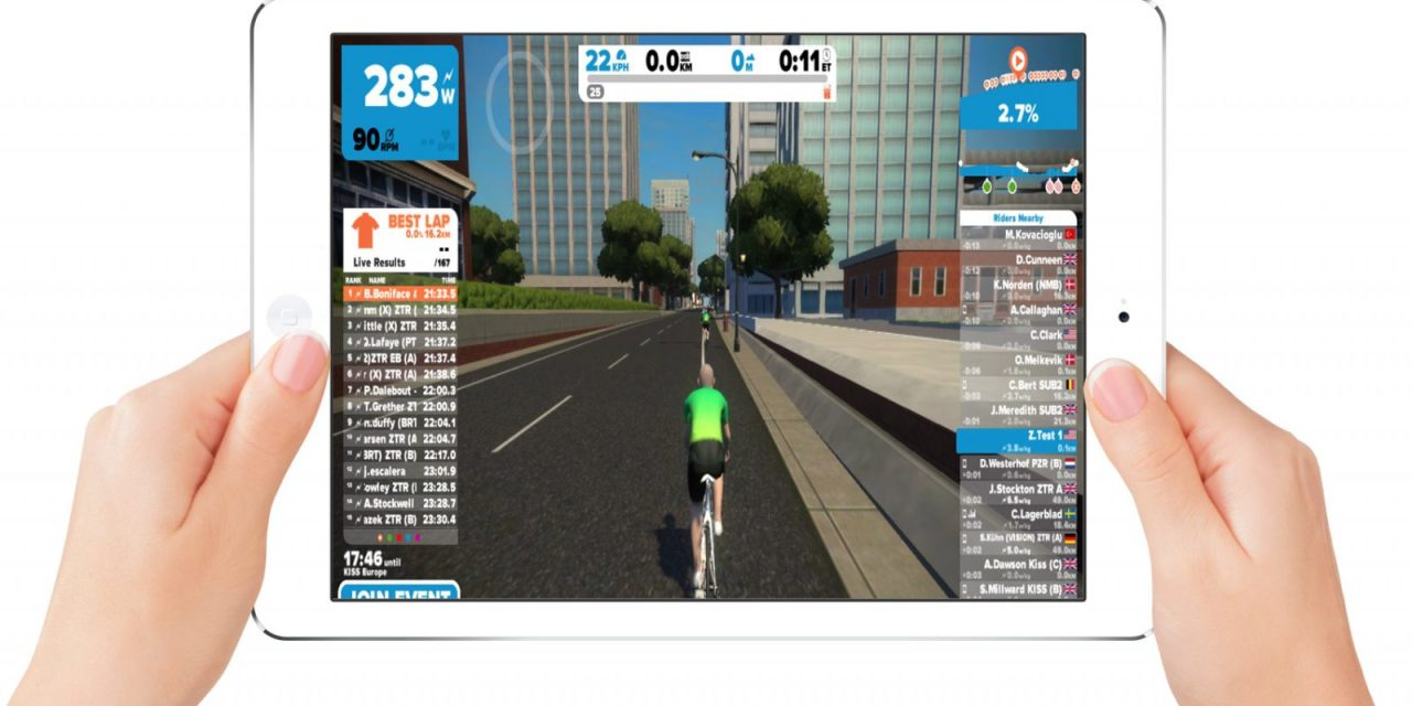 Zwift for iOS coming in 4-6 weeks