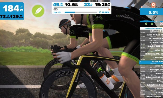 On the hoods or in the drops? How Zwift chooses rider hand position.