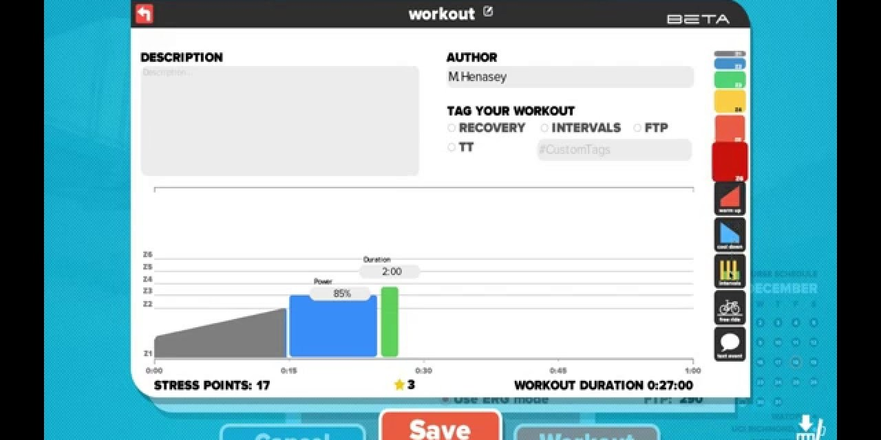 How to: load custom workouts in Zwift