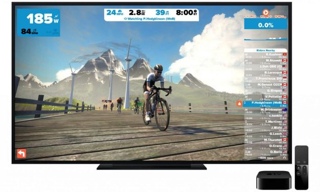 Zwift launched on Apple TV