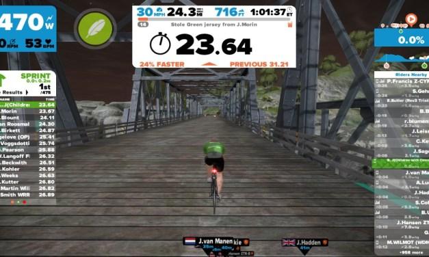Sprinting on Zwift (SkillZ and DrillZ)