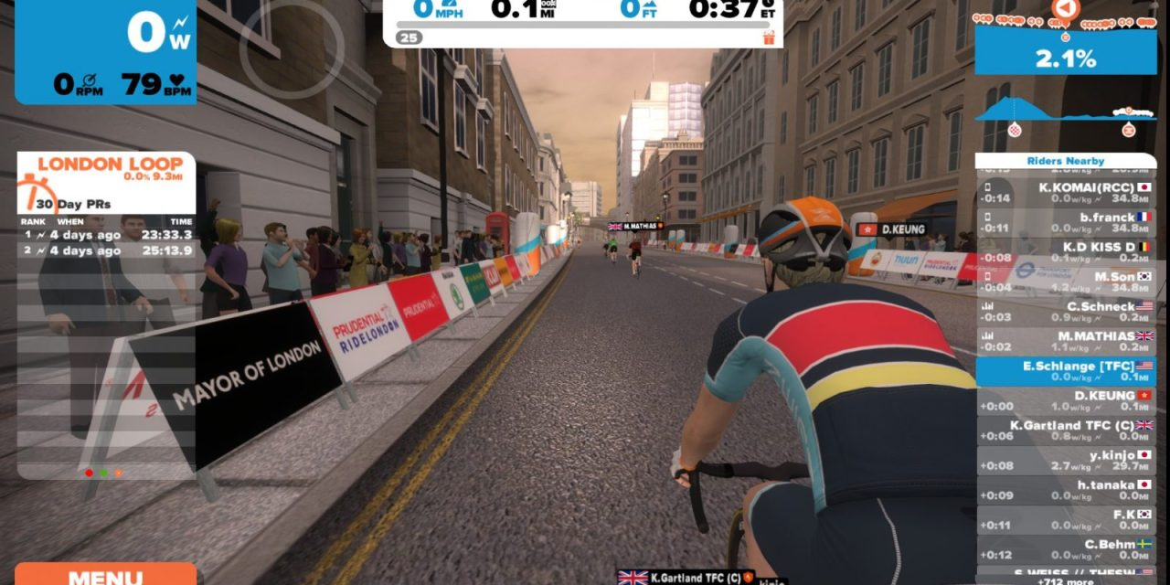 Zwift releases update 1.0.18507