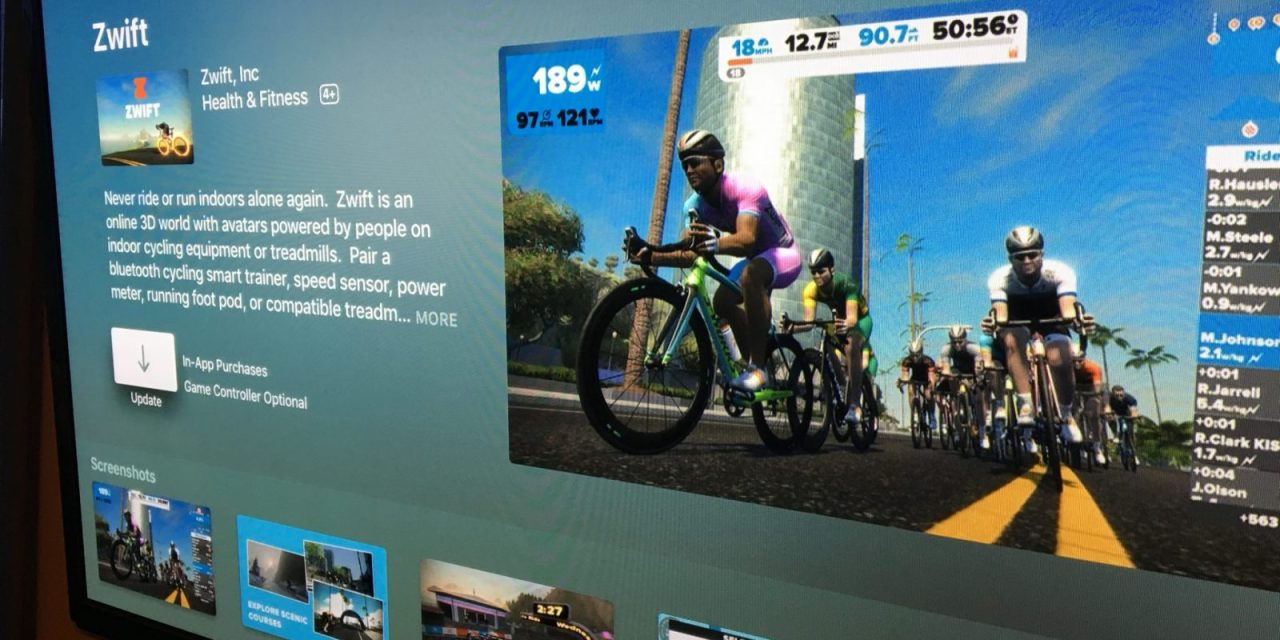 Tips and Tricks for Zwift on Apple TV