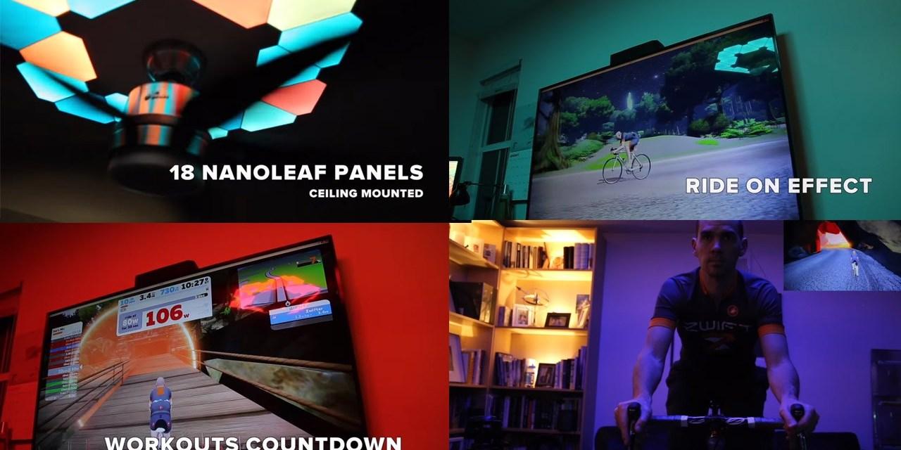 Zwift + Smart LED Lighting: Jon Mayfield's Weekend Project