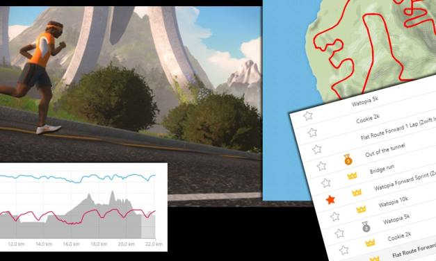 Verified Strava Segments for Zwift Runners