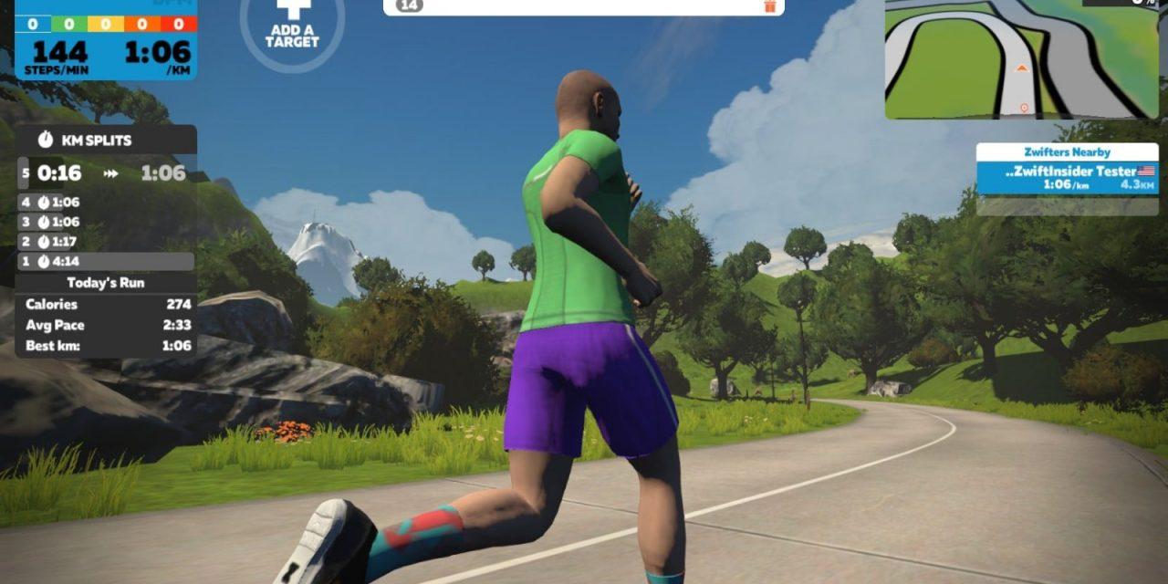 "Watopia ""5k Loop"" Run Route Details"