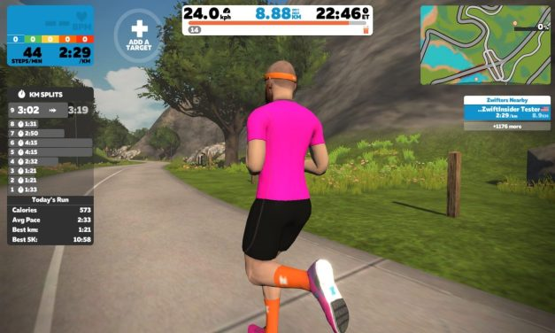 "Watopia ""Jon's Route"" Run Route Details"