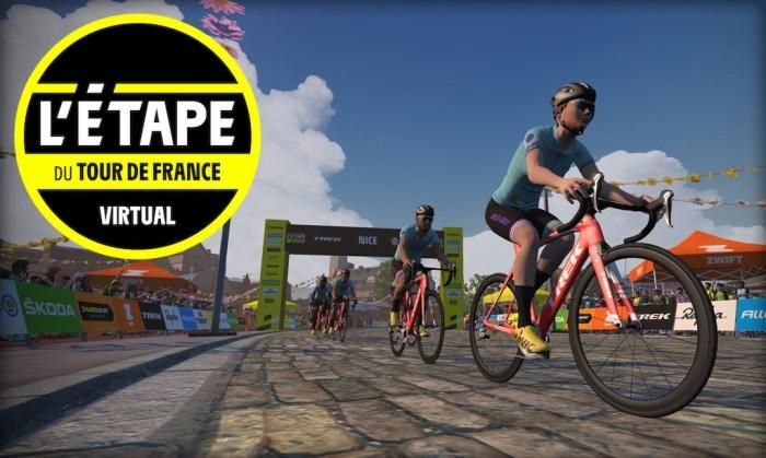 Тур-де-Франс в zwift