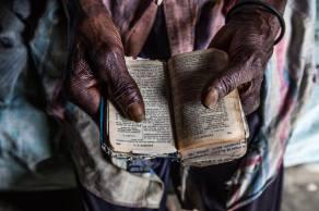 Andrés Michel's bible