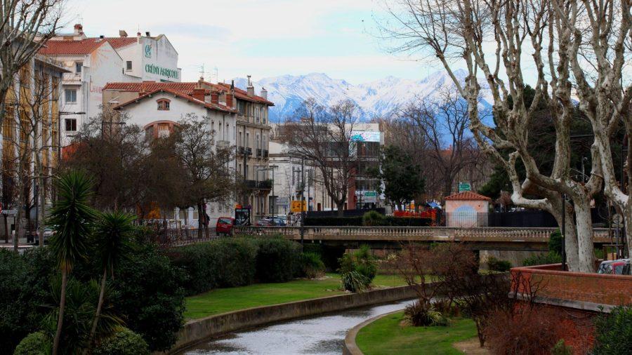 Der Fluss Têt und die Pyrenäengipfel bannen täglich den Blick aller, die durch die historische Innenstadt schlendern.