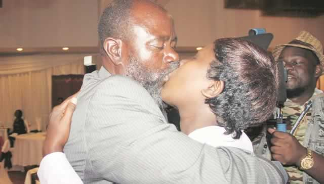 "DRAMA: Cde Chinotimba catches young wife pants down at VID, ""You are too old to satisfy me"""