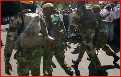 Mugabe panics as unpaid Zim soldiers join protests