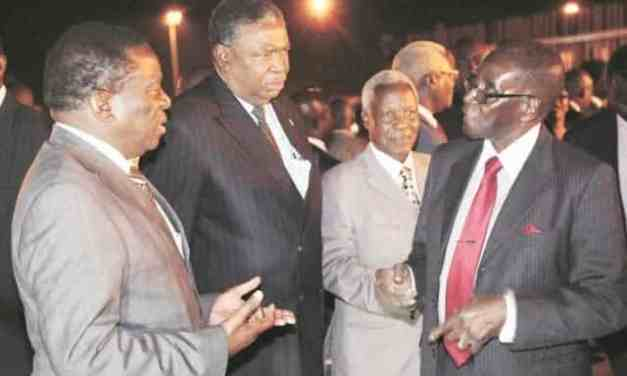 Mnangagwa takes over as President Mugabe leaves