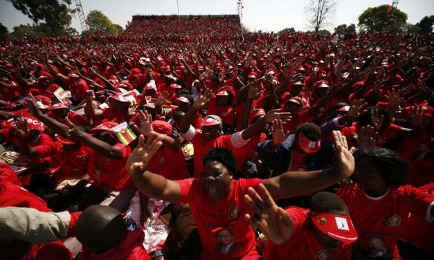 Latest News on MDC MEGA  Demo for 2,2 Milion jobs, Chiadzwa $15 Billion diamond cash