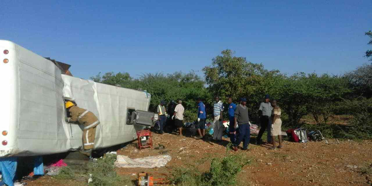 LATEST: MB Transport Bus accident kills 12 in road collision: PICTURES