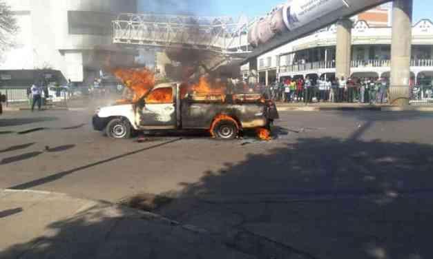 Harare Burning, Violent Zim Police Blamed