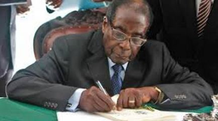 Mugabe signs a new special bill into law
