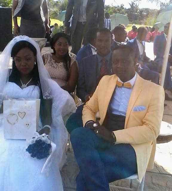 Sulu Chimbetu wedding pictures, Ex-wife storms function