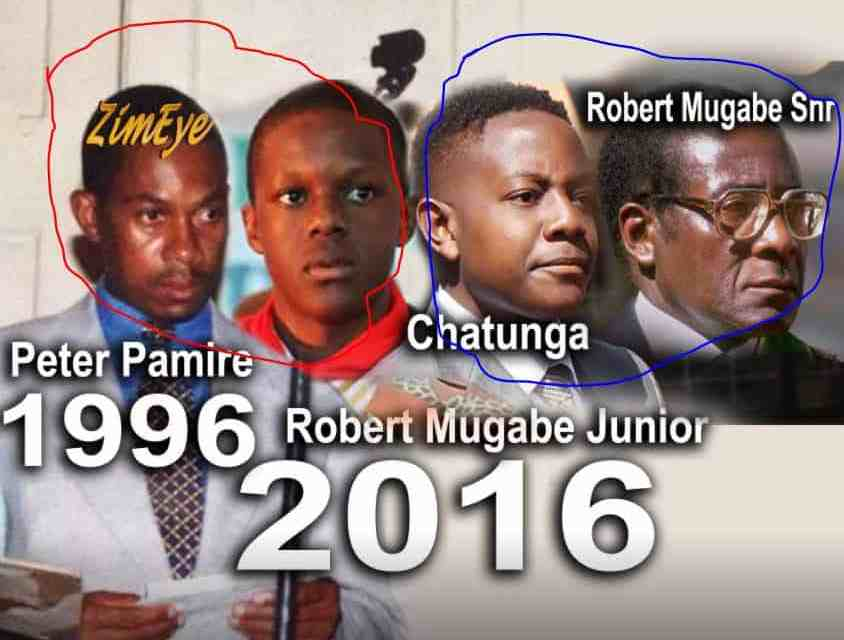 VIDEO: Woman says Mugabe kids are actually Peter Pamire's