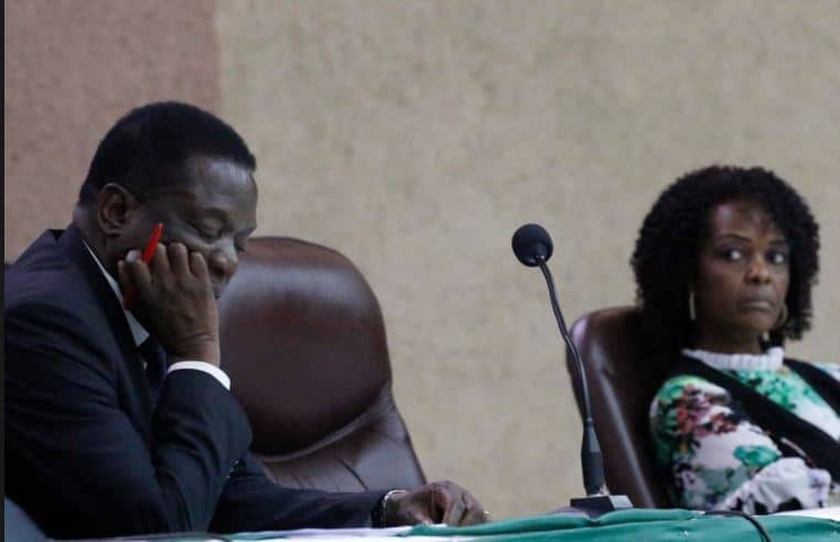 Grace, Leo Mugabe exchanged hard words over ED bribery on burial day