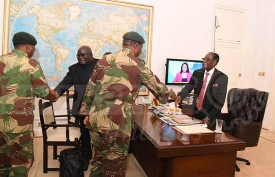 Mnangagwa salutes Chiwenga for ending Mugabe dark era