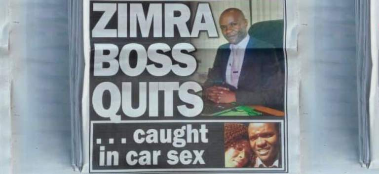 Zimra boss brings girlfriend to workplace, has s3x in car park