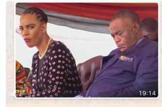 VP Chiwenga and his ill wife