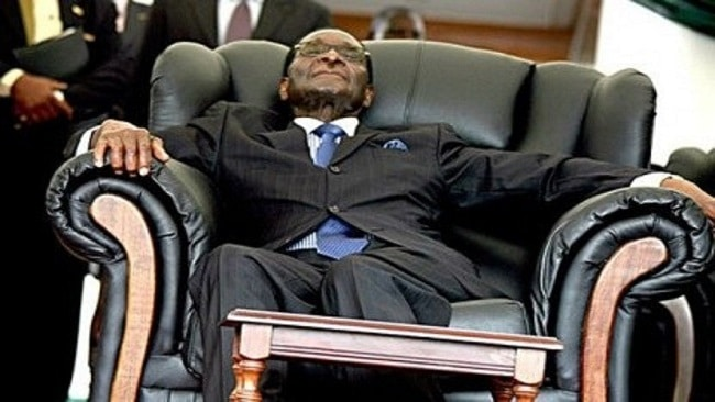 """""""Mugabe was now renting a house in Singapore, ED gvt did not want him in Zim"""""""
