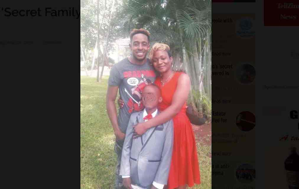Picture: Trevor Dongo's secret woman and child uncovered in Chiredzi