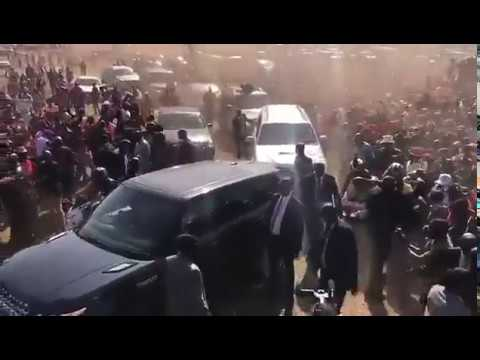 VIDEOS: Chamisa motorcade arrives for Harare MDC Alliance star rally
