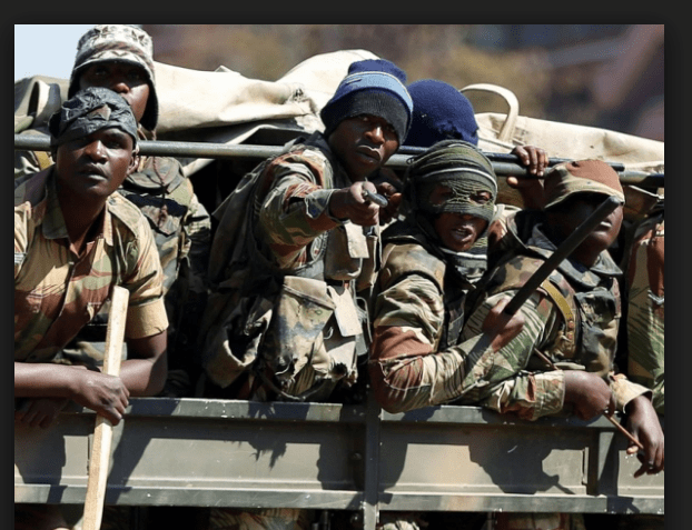 Drama after soldier catches wife cheating with Zanu PF official