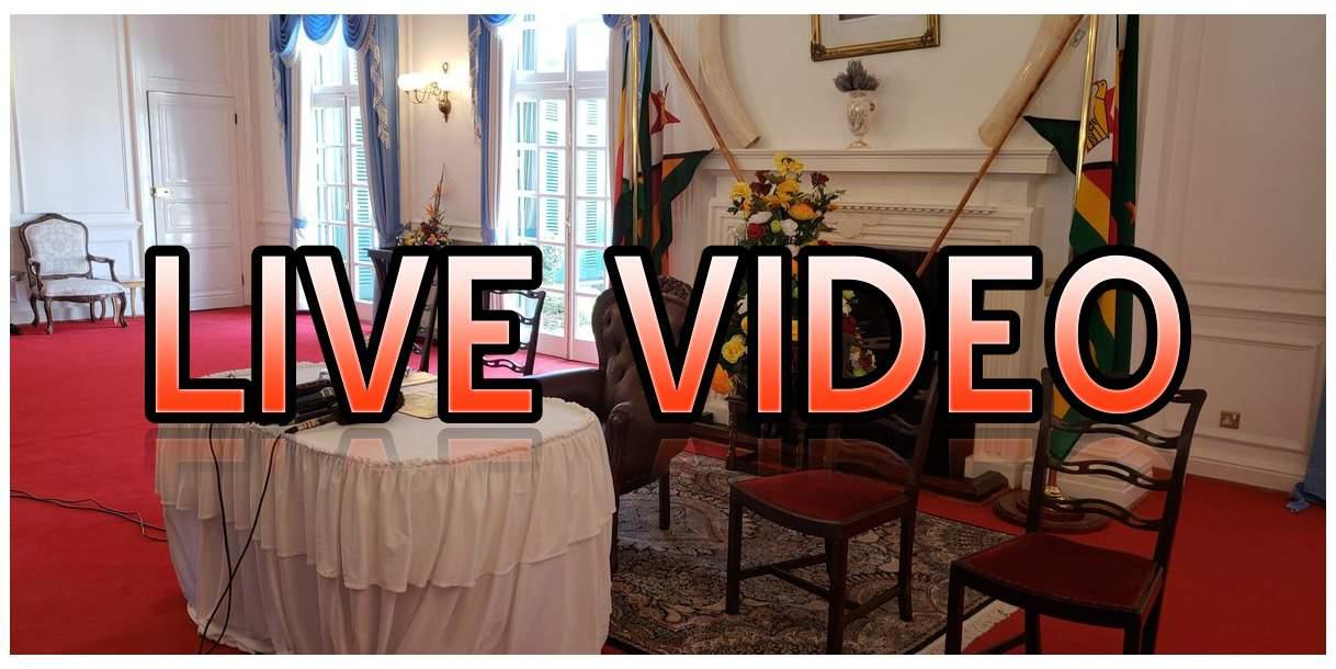 WATCH Live Video: Zim New Cabinet…ED Mnangagwa Names Ministers