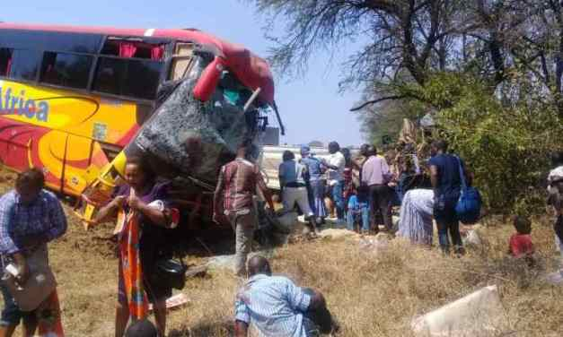 Latest News: 6 Killed In Masvingo Road Accident Involving Inter Africa Bus