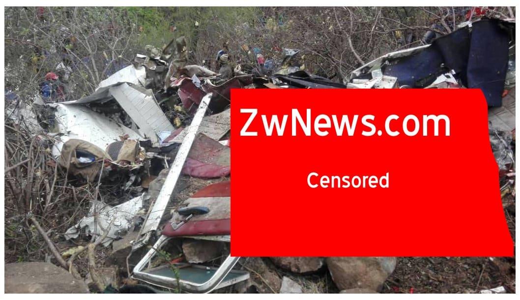 LATEST: Zimbabwe plane crash: 3 people, 1 Finish national killed in accident, PICTURES
