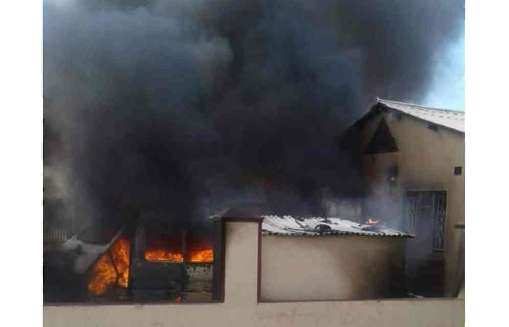 PICTURE Masvingo Kombi-House on FIRE: What happens when you fuel car at home